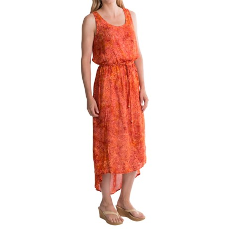 Nomadic Traders High-Low Chiffon Dress - Sleeveless (For Women)