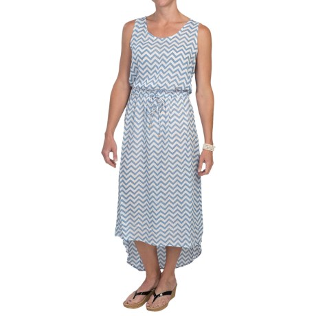 Nomadic Traders High-Low Chiffon Dress - Sleeveless (For Women)