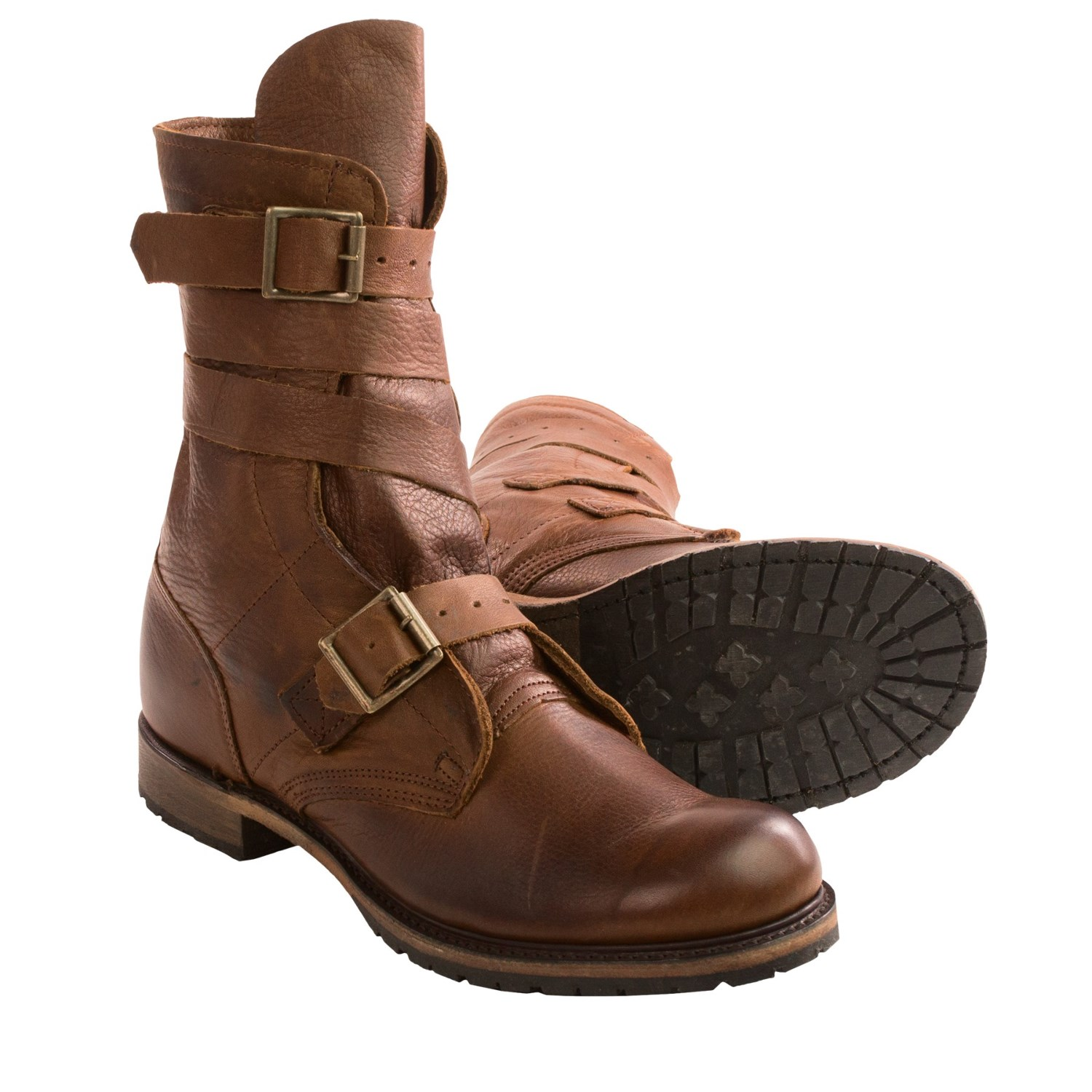 vintage shoe company isaac tanker boots for 9424n