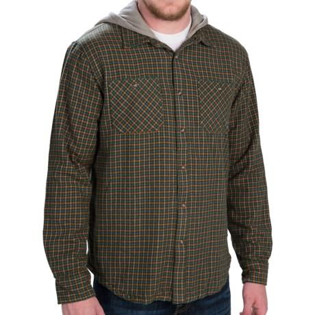 Gramicci Murphy Hooded Flannel Shirt Jacket - Long Sleeve (For Men)