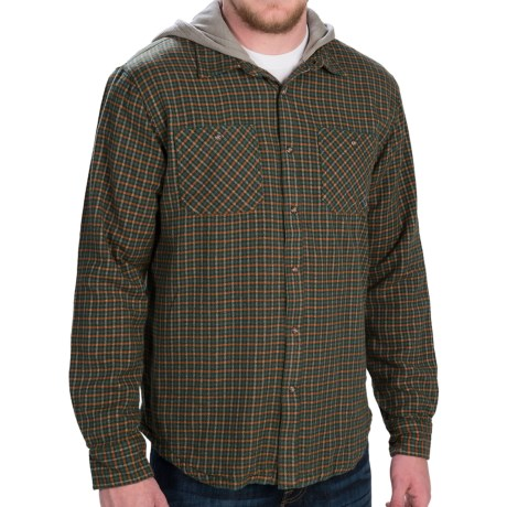 Gramicci Murphy Hooded Flannel Shirt Jacket - Long Sleeve (For Men)