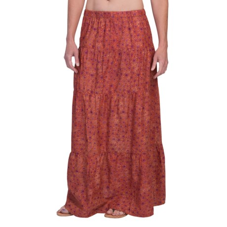 Gramicci Isabella Batik Maxi Skirt (For Women)