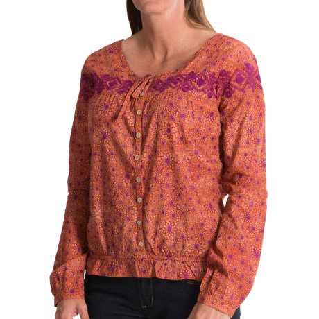 Gramicci Adonia Batik Shirt - Long Sleeve (For Women)