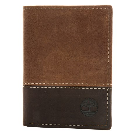 Timberland Two-Tone Trifold Wallet