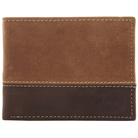 Timberland Marl Two-Tone Commuter Passcase Wallet