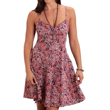 Stetson Paisley Print Dress - Spaghetti Strap (For Women)
