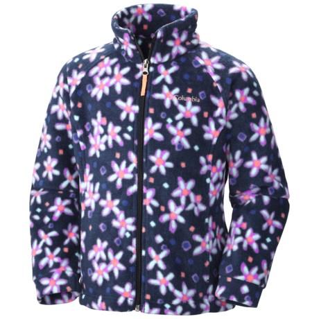 Columbia Sportswear Benton Springs II Printed Fleece Jacket (For Little and Big Girls)