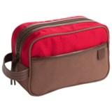 Timberland Canvas/Nylon Travel Kit