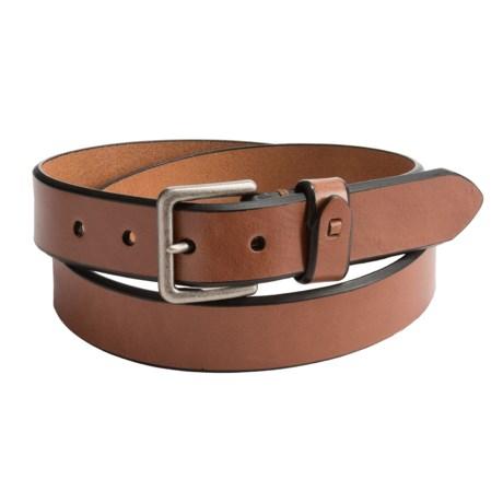Reward Glazed Bridle Leather Belt (For Men)