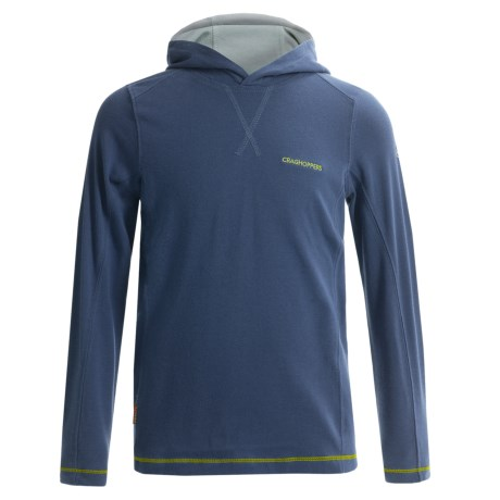 Craghoppers NosiLife Hooded Shirt - UPF 40+, Long Sleeve (For Little and Big Boys)