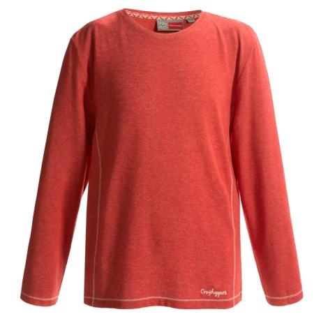 Craghoppers NosiLife Paraiso T-Shirt - UPF 40+, Long Sleeve (For Little and Big Kids)