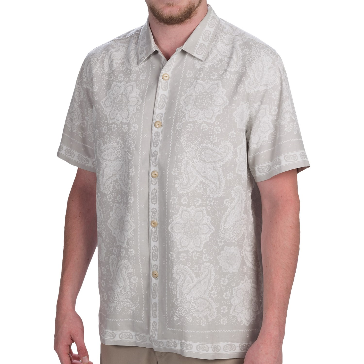 tommy bahama bandana on the run shirt for men 9437u