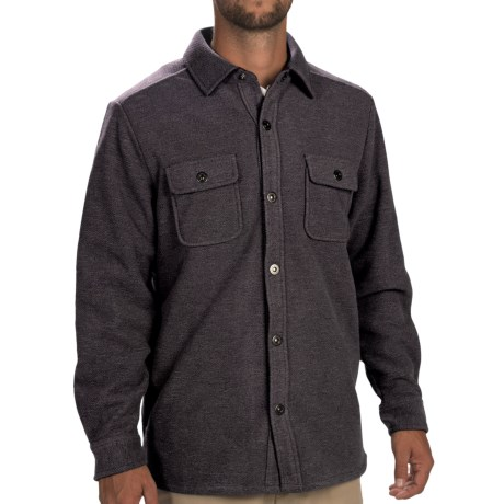 Tommy Bahama Twill Murray CPO Shirt Jacket - Fleece Lining, Long Sleeve (For Men)