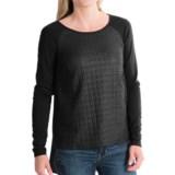 Stretch Hi-Lo Shirt - Long Sleeve (For Women)