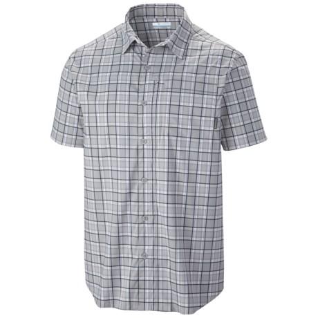 Columbia Sportswear Global Adventure II Yarn Dye Omni-Wick® Shirt - UPF 30, Short Sleeve (For Men)