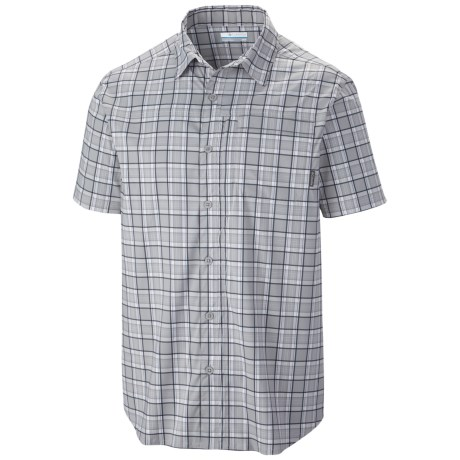 Columbia Sportswear Global Adventure II Yarn Dye Omni-Wick® Shirt - UPF 30, Short Sleeve (For Men)
