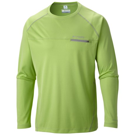 Columbia Sportswear Cool Catch Tech Zero Shirt - Omni-Freeze® ZERO, UPF 50, Long Sleeve (For Men)