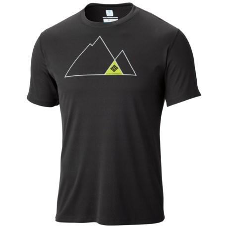 Columbia Sportswear Zero Rules Print T-Shirt - Omni-Freeze® ZERO, UPF 30, Short Sleeve (For Men)