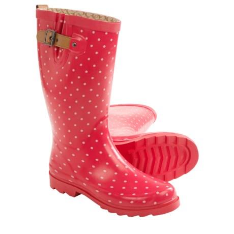 Chooka Classic Dot Rain Boots - Waterproof (For Women)