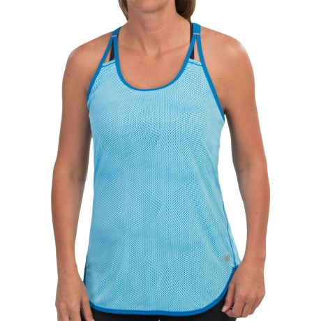 New Balance Ice Graphic Tunic Tank Top (For Women)