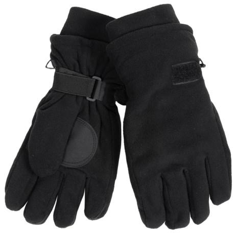 Auclair Double-Lined Fleece Gloves (For Men)