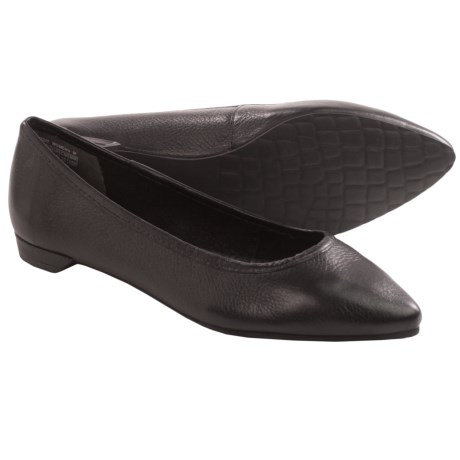 Rockport Ashika Scooped Ballet Flats - Leather (For Women)