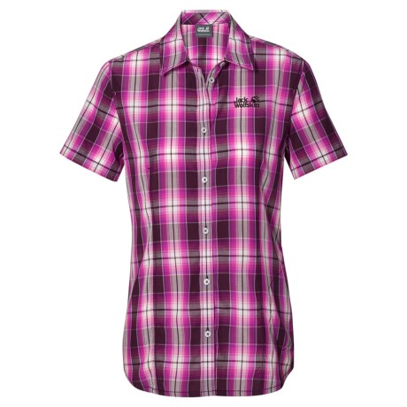 Jack Wolfskin Aurora Shirt - Short Sleeve (For Women)