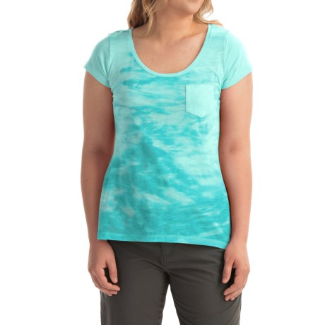 Columbia Sportswear Waves Pocket T-Shirt - Short Sleeve (For Women)