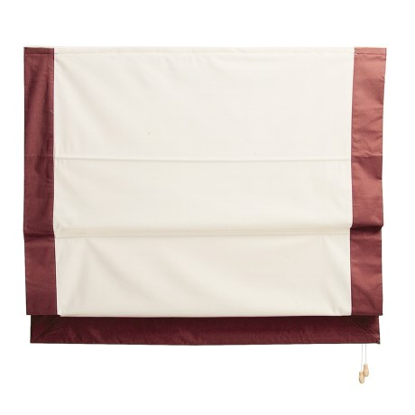 Green Mountain Vista Roman Shade - Insulated, 30x72""
