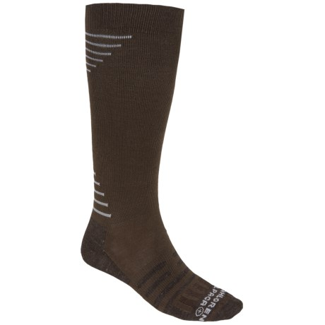 Dahlgren Travelers Compression Socks - Merino Wool-Alpaca, Over the Calf (For Men and Women)