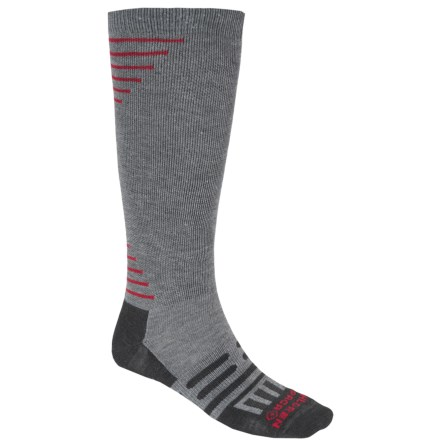 Dahlgren Travelers Compression Socks - Merino Wool-Alpaca, Over the Calf (For Men and Women) in Charcoal - Closeouts