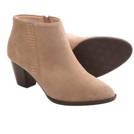 Vionic with Orthaheel Technology Georgia Ankle Boots - Suede (For Women)