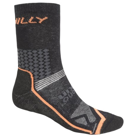 Hilly Cyclo Socks - 3/4 Crew (For Men and Women)