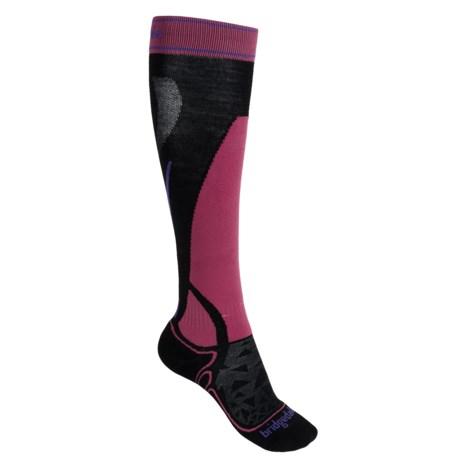 Bridgedale Vertige MerinoFusion Socks - Merino Wool, Over the Calf (For Women)