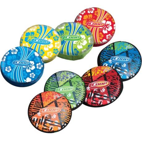 """Swimways Skip 'n Splash 7"""" Pool Disks - Set of 10"""