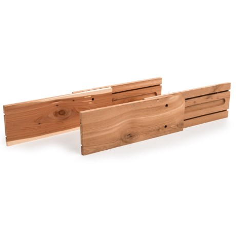 Great American Hanger Company Adjustable Cedar Drawer Dividers - 2-Pack