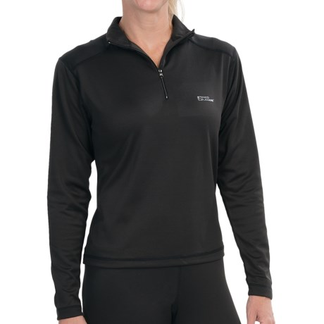 Red Ledge Edge Base Layer Top - Lightweight, Zip Neck, Long Sleeve (For Women)