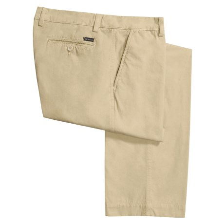 Mason's Cotton Poplin Sandwashed Pants (For Men)