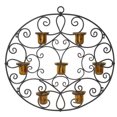 CBK, Ltd. Iron Candle Sconce - Wall-Mounted