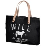 Will Leather Goods Classic Carry-All Tote Bag - Small (For Women)