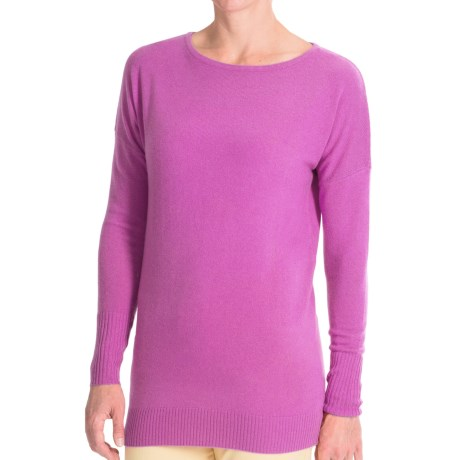 Forte Cashmere Dolman-Style Sweater (For Women)