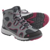 Jack Wolfskin Crosswind Texapore Mid Hiking Boots - Waterproof, Leather (For Kids)