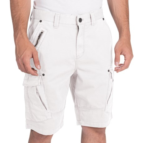 Calvin Klein Zip Detail Cargo Shorts (For Men)