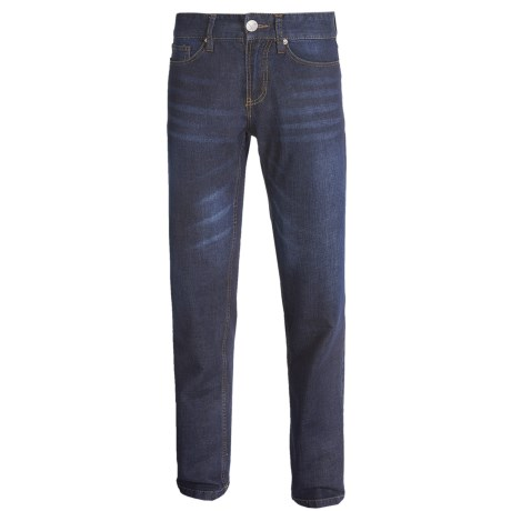 Relaxed Fit Jeans - Straight Leg (For Men)