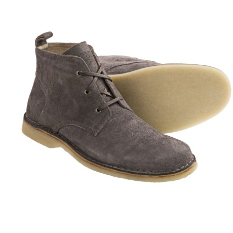 Andrew Marc Dorchester Crepe Chukka Boots (For Men)