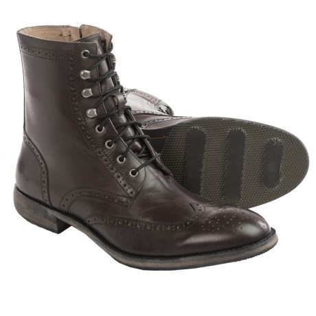 Andrew Marc Hillcrest Wingtip Boots - Leather (For Men)
