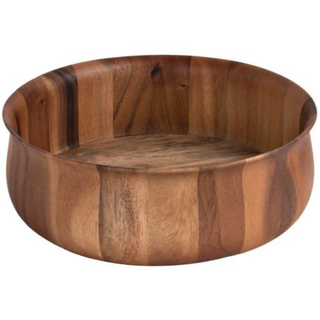 """Core Bamboo Acacia Bloom Bowl - 12x4"""""""