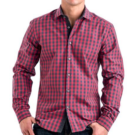 Stone Rose Check Shirt - Long Sleeve (For Men)