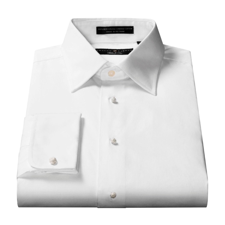 Joseph Abboud Black Tie Formal Shirt For Men 95075