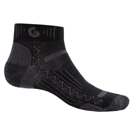 Point6 Hiking Tech Socks - Merino Wool, Quarter-Crew (For Men and Women)